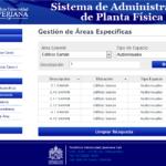 Sistema de Administración de Planta Física - Detalle 1