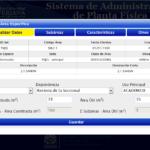 Sistema de Administración de Planta Física - Detalle 2