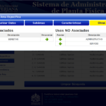Sistema de Administración de Planta Física - Detalle 4