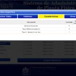 Sistema de Administración de Planta Física - Detalle 3